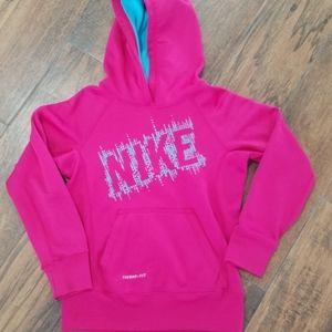 Girls Nike size small thermal fit sweatshirt